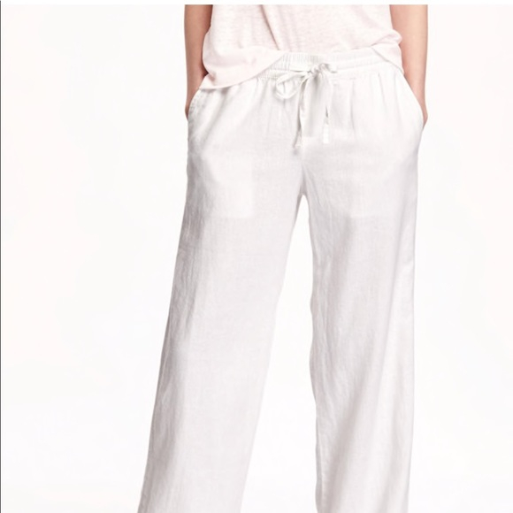 top-rated newest 2019 clearance sale outlet on sale Mid-Rise Linen-Blend Pants for Women